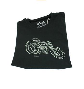 Camiseta de algodón para los aficionados a las motos Harley - comprar online precio 25€ euros