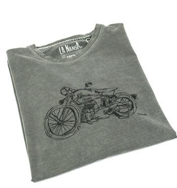 Camiseta de algodón para los moteros - comprar online precio 25€ euros