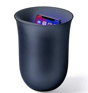 Cargador inalambrico y limpiador de bacterias de tu móvil - comprar online precio 79€ euros