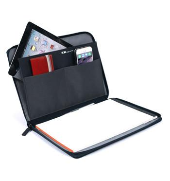 Carpeta Portafolios Din A4 porta Ipad o tableta marca Nava Design color azul - comprar online precio 59€ euros
