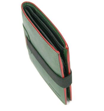 Cartera de piel con billetera y tarjetero tipo americano de colores - comprar online precio 30€ euros