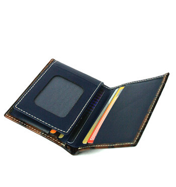 Cartera billetera tarjetero de piel grabada - comprar online precio 38€ euros
