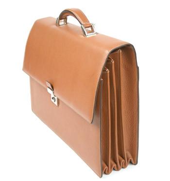 Portadocumentos ministrable en piel marca Solohombre - comprar precio 410€ euros