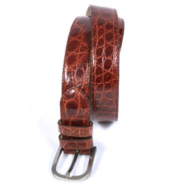 Cinturón genuina piel cocodrilo -Comprar online Precio 238€ - Regalo exclusivo