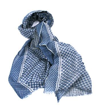 Foulard fino y muy agradable de seda y lana fina - comprar online precio 45€ euros