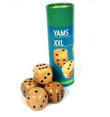 Juego del Yams o Generala ¡gigante! - comprar online precio 20€ euros