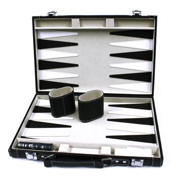 Juego del backgammon en símil piel - comprar online precio 49€ euros