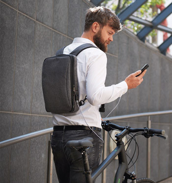 Mochila de negocios para portátil de 13 pulgadas - comprar online precio 76€ euros