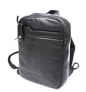Mochila pequeña de piel color negro - comprar online precio 145€ euros