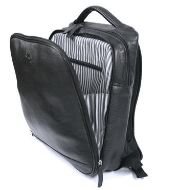 Mochila piel con compartimento para portátil o Ipad- Precio 145€