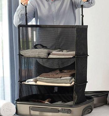 Organizador plegable de ropa para viaje - comprar online precio 22€ euros