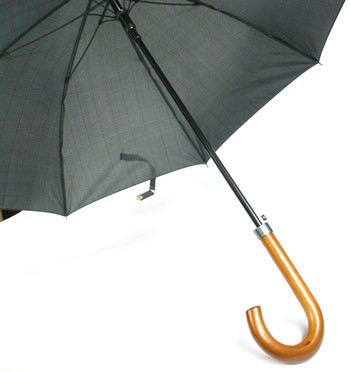 Paraguas dibujo Príncipe de Gales apertura automática y sistema a prueba de viento- comprar online precio 35€ euros