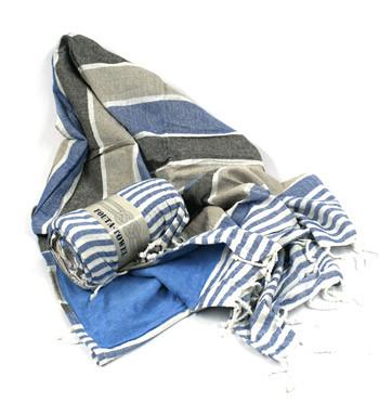 Pareo toalla de rayas horizontales para la playa o piscina - comprar online precio 22€ euros
