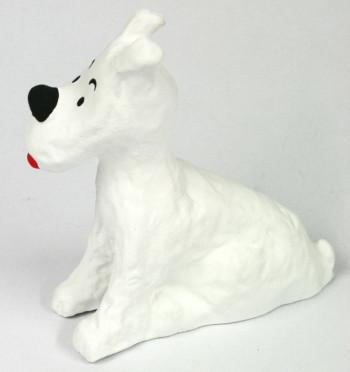 Figura artesanal perro compañero de viajes - Comprar Precio 35€ euros