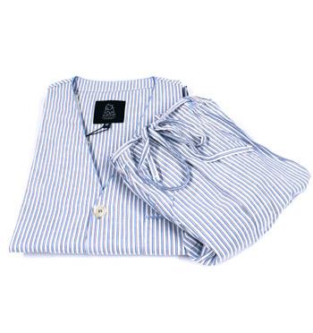 Pijama de algodón de rayas para el verano - comprar online precio 59€ euros