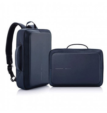 Porta documentos para portátil convertible en mochila y bandolera marca XD color azul - comprar online precio 115€ euros