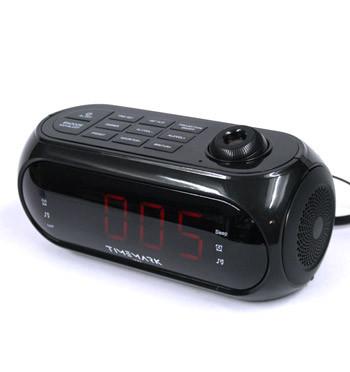 Radio reloj despertador con proyector de la hora sobre el techo - comprar online precio 35€ euros