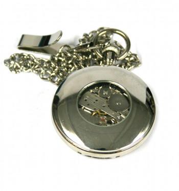 Reloj de bolsillo con fase lunar y maquinaria a la vista - Comprar Online Precio 45€ euros