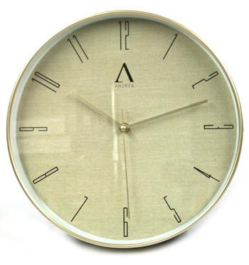 Reloj de pared para casa o despacho en dorado - comprar online precio 22€ euros