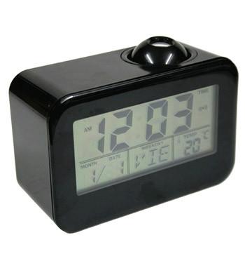 Reloj despertador digital con calendario y temperatura y con proyector de la hora - Comprar online 25€ euros