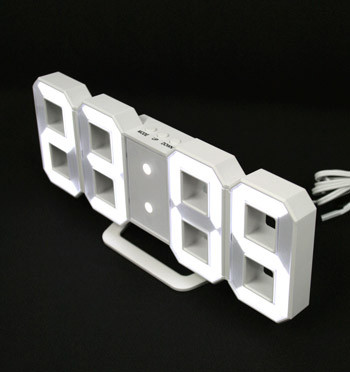 Reloj despertador de leds con modo noche - comprar online precio 35€ euros