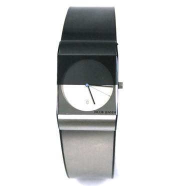 Reloj de pulsera rectangular todo de acero marca Jacob Jensen - comprar precio 395€ euros