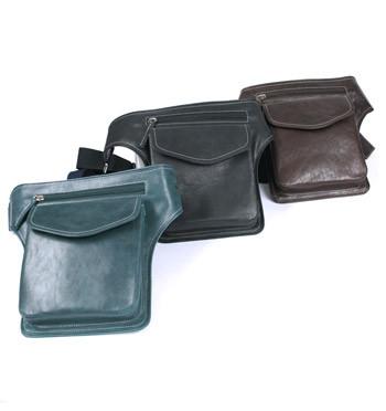 Riñonera de piel bolso de viaje para acoplar en la cintura - comprar online precio 110€ euros