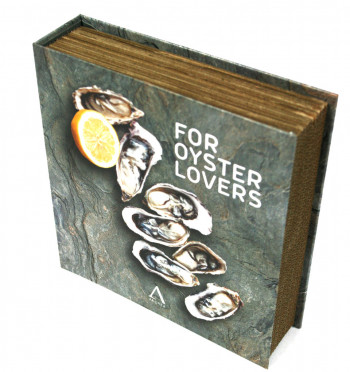 Set para abrir ostras con forma de libro - comprar online precio 25€ euros