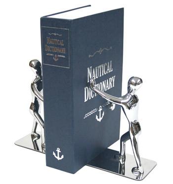 Sujeta libros hombres en metal - Comprar online precio 34€ euros
