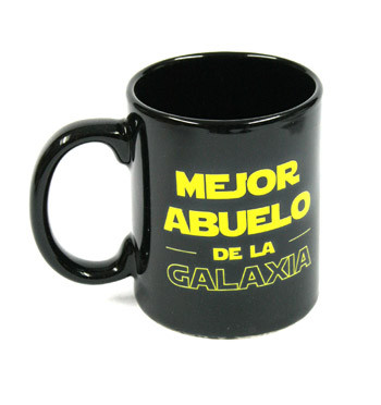 Taza para ¡el mejor abuelo de la galaxia! - comprar online precio 15€ euros