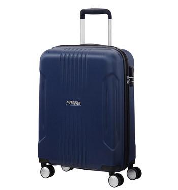 Trolley de cabina color azul marca American tourister - comprar online precio 99€ euros