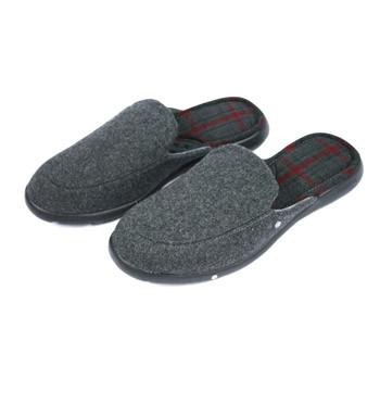 Zapatillas de invierno de estar por casa destalonadas con forro escoces - comprar online precio 35€ euros