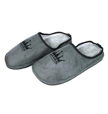 Zapatillas de andar por casa ¡Soy el Rey! de invierno  - comprar online precio 32€ euros