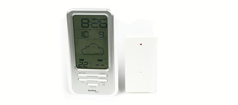 Estación meteorológica con temperatura exterior e interior  - comprar online precio 48€ euros