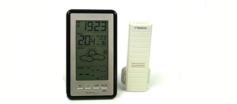 Estación meteorológica con temperatura interior y exterior, con registro MIN/MAX - comprar online precio 74€ euros