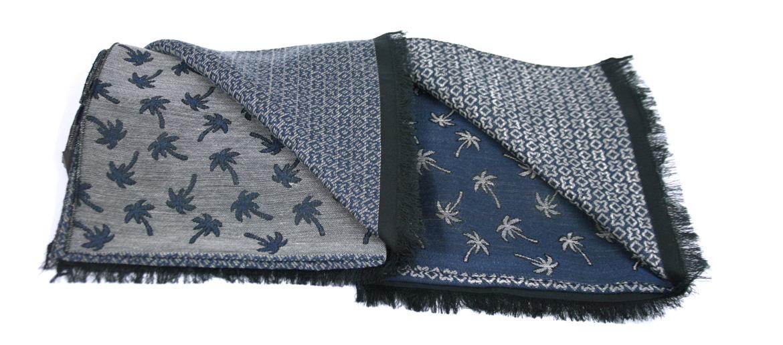 Foulard de algodón para el otoño con dibujo de palmeras - comprar online precio 39€ euros