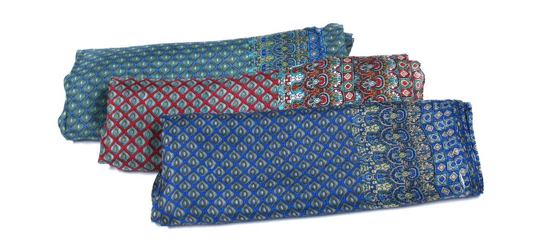 Foulard de seda natural para esta primavera y las noches de verano - comprar online precio 35€ euros