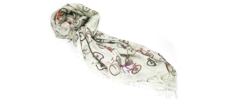 Foulard pañuelo cuello para los amantes de las bicicletas - comprar online precio 128€ euros