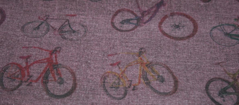 Foulard pañuelo cuello de modal y cachemir para los amantes de las bicicletas - comprar online precio 128€ euros