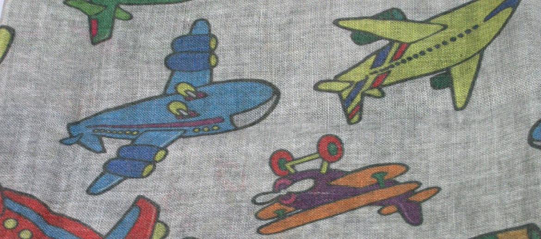 Foulard pañuelo cuello para los amantes de los aviones - comprar online precio 128€ euros