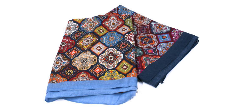 Foulard pañuelo de modal para primavera o noches de verano - comprar online precio 71€ euros