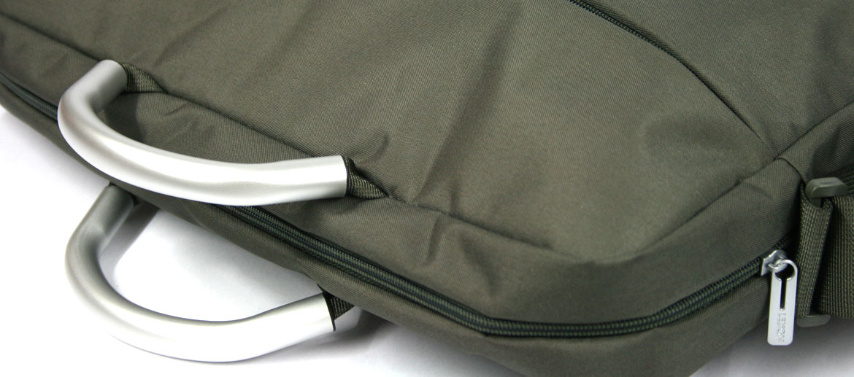 Funda para portátil con asas de aluminio hasta 17 pulgadas color gris - comprar 59€ euros