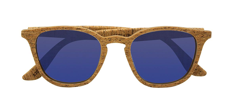 Gafas de sol de corcho compuesto de materiales reciclados - comprar online precio 49€ euros