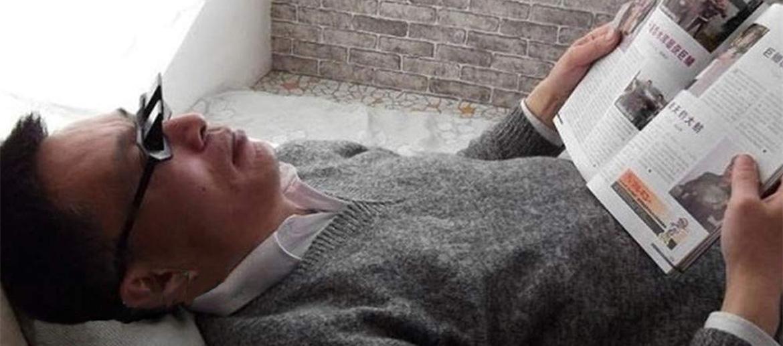Gafas para leer tumbado en el sofá o en la cama - comprar online precio 18€ euros