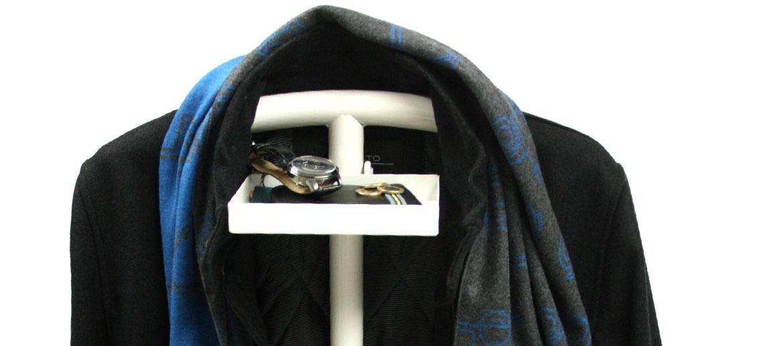 Galán de noche mozo perchero con vacía bolsillos - comprar online precio 75€ euros