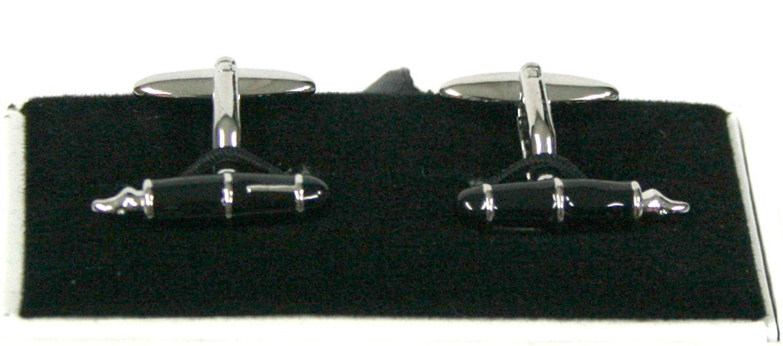 Gemelos de camisa con forma de plumas estilográficas - Comprar Online Precio 39€ euros