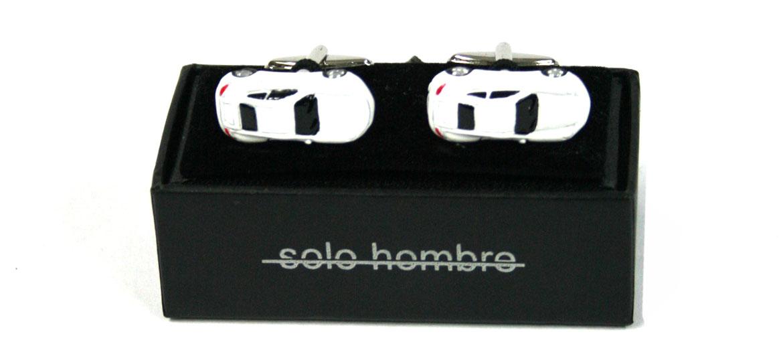 Gemelos coche porche color blanco - comprar online precio 36€ euros