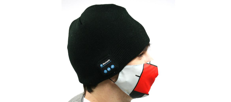 Gorro para ir calentito y hablar por el móvil o escuchar música por bluetooth - comprar online precio 25€ euros