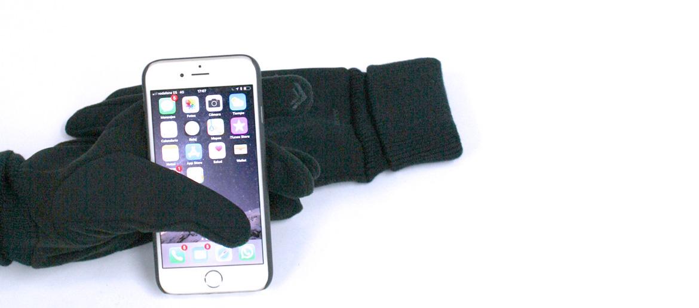 Guantes táctiles para el frío - comprar online precio 29€ euros