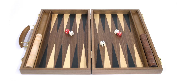 Juego de backgammon de madera - comprar online precio 50€ euros